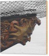 The Mast Head Wood Print