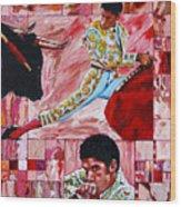 The Matador Wood Print