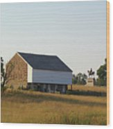 The Mcpherson Barn Wood Print