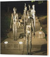 The Memorial To The Victims Of Communism Wood Print