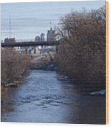 The Menomonee Near 33rd And Canal Streets Wood Print