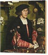 The Merchant Georg Gisze 1532 Wood Print