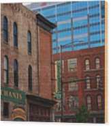 The Merchants Nashville Wood Print