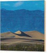 The Mesquite Dunes Wood Print