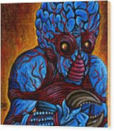 The Metaluna Mutant Wood Print