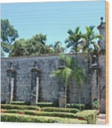The Miami Monastery Wood Print
