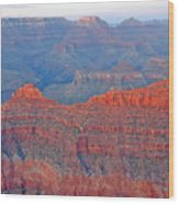 The Mighty Grand Canyon Wood Print