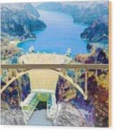 The Mike O'callaghan Pat Tillman Memorial Bridge Wood Print