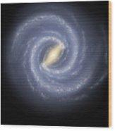 The Milky Way Galaxy Wood Print
