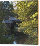 The Mill Wood Print