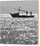 The Minimum Trawl  Wood Print