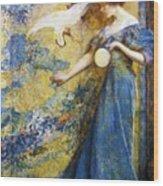 The Mirror 1910 Wood Print