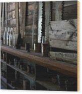 The Mishawaka Woolen Bar Wood Print