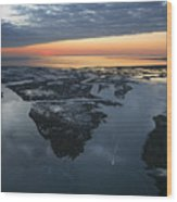 The Mississippi River Gulf Outlet Wood Print