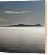 The Mists Of Pic Island Wood Print