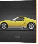 The Miura Sv 1972 Wood Print