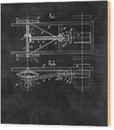 The Model T Patent Wood Print