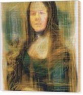 The Mona Lisa Wood Print