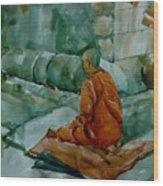 The Monk Wood Print