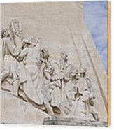 The Monument To The Discoveries Wood Print