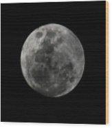The Moon - La Luna 7 Wood Print