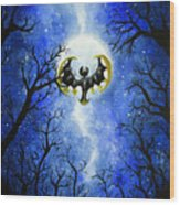 the moon of Lunala Wood Print