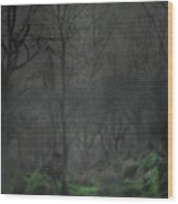 The Moon Over Guisecliff Wood Print