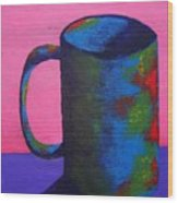 The Morning Cup Of Coffee Wood Print