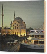 The Mosque Wood Print