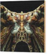 The Moth Wood Print