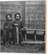 The Mott Street Boys Wood Print