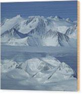 The Mount Vinson Massif 16, 059 Wood Print