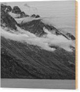 The Mountain Wood Print