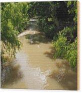 The Muddy Medina Wood Print