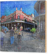 The Muriel's Of Jackson Square  Wood Print