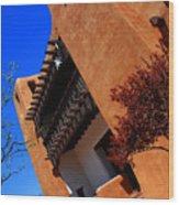 The Museum Of Art In Santa Fe Wood Print
