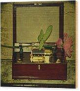 The Music Box Wood Print