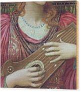 The Music Faintly Falling Dies Away Wood Print
