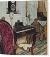 The Music Room Wood Print