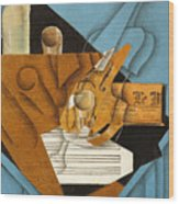 The Musician's Table Wood Print