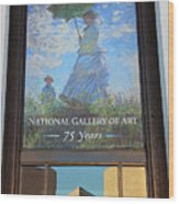 The National Gallery Of Art Is 75 Years Old Wood Print