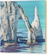 The Needle Of Etretat Wood Print