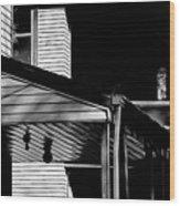The Neighborhood Wood Print