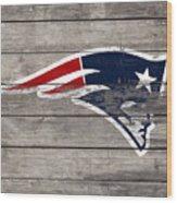The New England Patriots 3c Wood Print