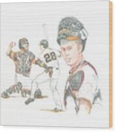 The New Natural Buster Posey Wood Print