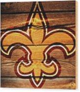 The New Orleans Saints 3b Wood Print