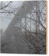 The New River Gorge Bridge Wood Print