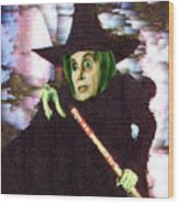 The New Wicked Witch Of The West Wood Print