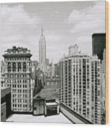 The New York Skyline Wood Print