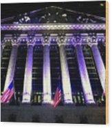 The New York Stock Exchange Wood Print